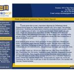 Design web pentru fima de consultanta
