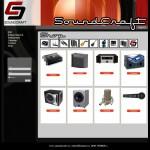 Design web pentru www.soundcraft.ro