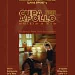 Afiș - Cupa Apollo, Concurs de dans