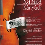 Kaláka - Afiș seară muzicală