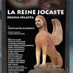 La reine jocaste, Afiș pentru Compania Renata Scant Grenoble