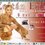 Zoltán Erika afiș concert Radio GAGA
